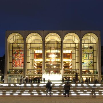 The Met Opera cancels the 2020-2021 season due to the coronavirus pandemic