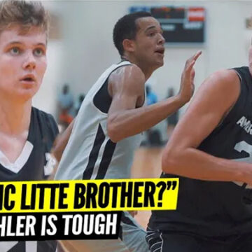 """THIS JOKIC LITTLE BROTHER?"" Jaxon Kohler Is Tough!"