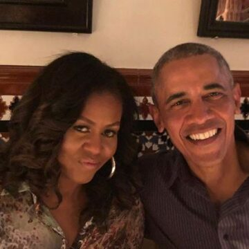 Barack Obama says Michelle is 'the love of my life' on 28th anniversary (photo)