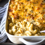 Creamy Baked Four-Cheese Mac and Cheese