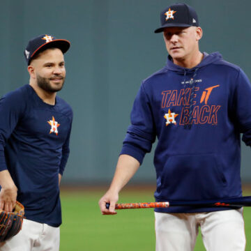 For A.J. Hinch, looks like crime does pay as Tigers' gig looms