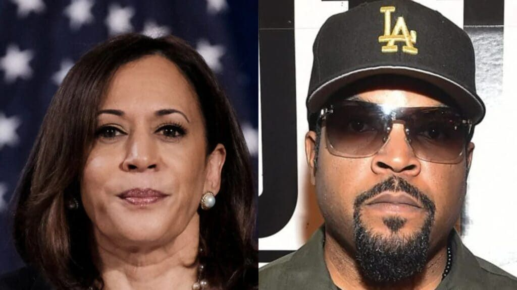 Ice Cube turned down talk with Kamala Harris as not 'productive'