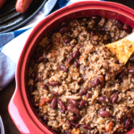 Simple & Easy Beef Chili (with Beans)