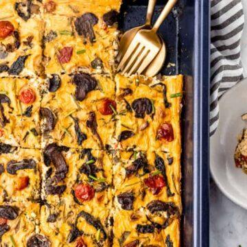 Vegan Frittata (on a Sheet Pan!)