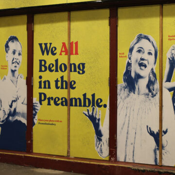 What the Constitution means to us Heidi Schreck's play, now streaming on Amazon Prime, helps us see the hope — and the many holes — in our founding document