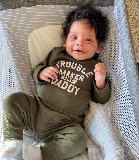 'It's the Hair for Me': Ciara's New Photo of Win Harrison Wilson Has Fans Seeing a '#miniRuss,' While Others Can't Get Enough of His Hair