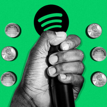 A change in Spotify's royalty payments could be a problem for hip-hop The streaming giant offers artists a lower rate in exchange for a bump in its recommendation algorithm