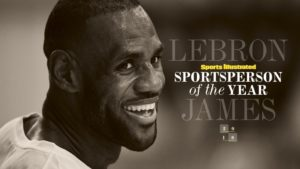 LeBron James is the 2016 Sports Illustrated Sportsperson of the Year