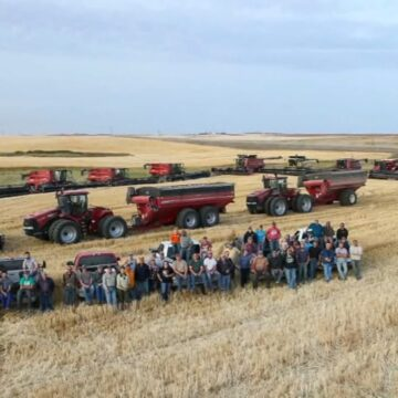 [VIDEO] Dozens of North Dakota Farmers Pitch-in to Finish Neighbor's Harvest After His Heart Attack
