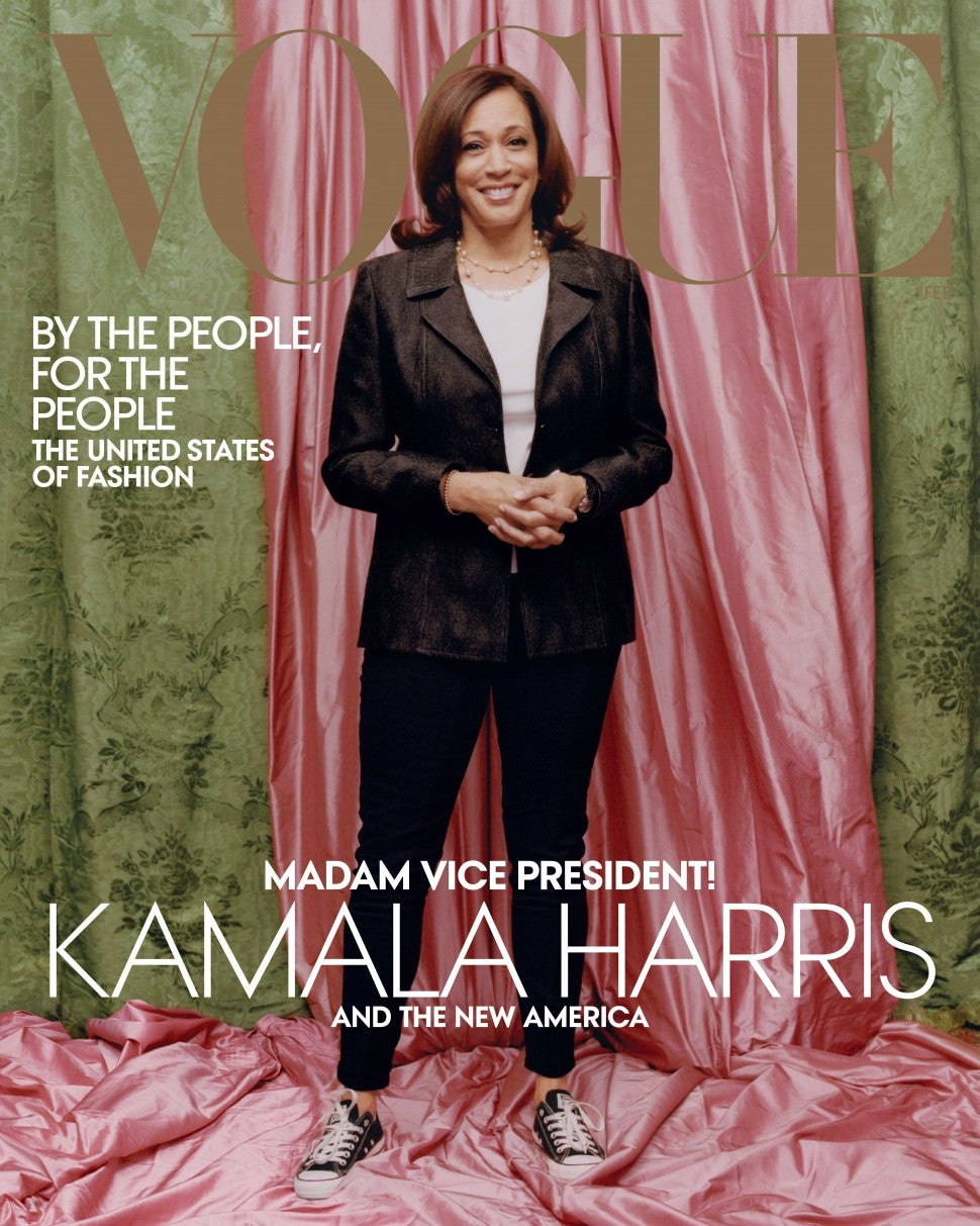 Why some folks really dislike Kamala Harris' 'Vogue' cover (photo)