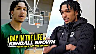 5 Star Kendall Brown Is A STAR On & Off The COURT!! Day In The Life w/ Future NBA Star!