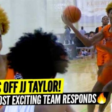 DON'T PISS OFF JJ TAYLOR! CHICAGO'S MOST EXCITING TEAM RESPONDS TO TRASH TALK! FULL HIGHLIGHTS!
