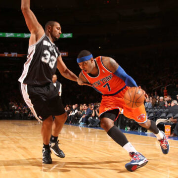 It's in the Game: Knicks Still Rolling, Melo, Play-In