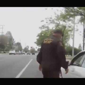 [VIDEO] Cop Releases Bodycam Footage of Female School Teacher Vulgarly Berating Him During Traffic Stop