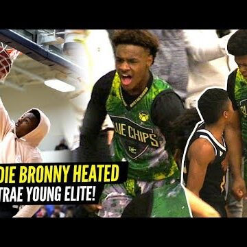 Bronny James & SFG vs Trae Young Elite GOT HEATED!! NOBODY Was Backing Down!!