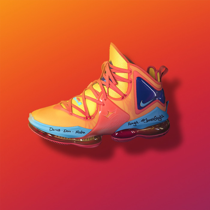 LeBron James to debut the Nike LeBron 19 in 'Space Jam: A New Legacy' 'This is the first time we've ever really debuted a shoe in a movie'