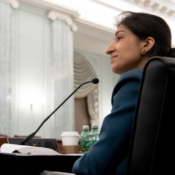 Lina Khan Named F.T.C. Chair by Biden