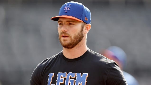 Pete Alonso has no problems with sticky stuff, but big problems with MLB