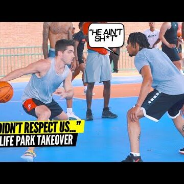 """""""They Didn't Respect Us..That Was A Mistake"""" Ballislife Park Takeover"""