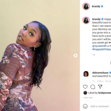 'Wow How Time Flies': Brandy's Fans Are Shocked By How Much the Singer's Daughter Has Grown After She Shares Beautiful Photos